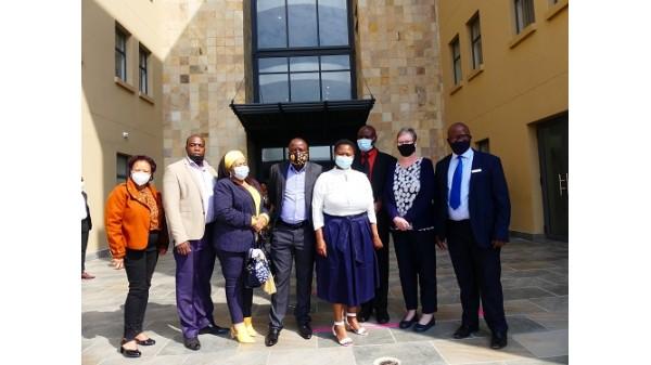 Portfolio Committee Visit 2021 Image